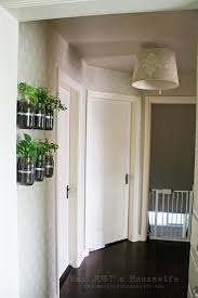 Ikea Wall Planter Stenciled Lamp Shade Stacy Risenmay