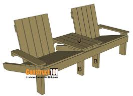 Outdoor Jack And Jill Chair by Jack And Jill Chair Plans Free Step By Step Downloadable Plans