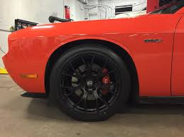 Dodge Challenger With Rims - dodge challenger with hellcat wheels no limit inc