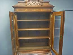 Antique Secretary Desk With Bookcase by Narrow Victorian Cylinder Roll Secretary Desk