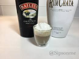 martini rumchata baileys rum chata espresso shot youtube
