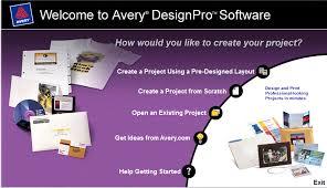 avery design pro 5 avery designpro v 4
