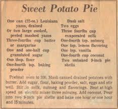 sweet potato pie recipe kraft recipes step aside pumpkin pie