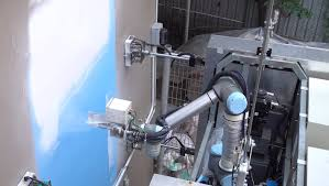 Spray Paint House Walls Outobot An Innovative Robot To Wash And Paint High Rise Buildings