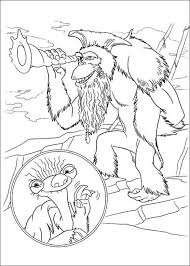 kids n fun com 12 coloring pages of ice age 4 continental drift