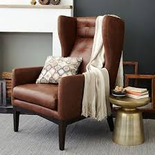 Brown Leather Chair And A Half Design Ideas Bliss Down Filled Chair And A Half James Harrison Leather And