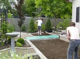 Backyard Ground Cover Ideas by Narrow Backyard Design Ideas Home Design