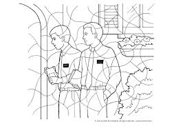 skillful lds missionary coloring page lds missionary coloring page