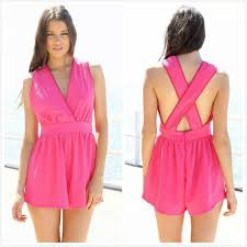 pink jumpsuit womens popular pink rompers womens jumpsuit buy cheap pink rompers womens