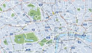 Map Of Nba Teams Walking Map Of London And Tube Strike Business Insider