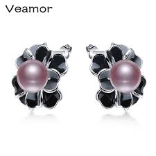 not on the high earrings veamor not allergic high quality fashion jewelry 925 silver needle