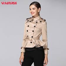 women autumn korean style slim ladies short coat 2017 fashion