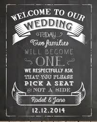 wedding backdrop sign custom chalkboard wedding welcome sign and a seat sign
