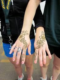 foto gratis henna mehndi tangan tato hiasan gambar gratis