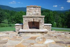 Outdoor Patio Fireplaces Outdoor Fireplace And Patio Masonry In Charlottesville Virginia