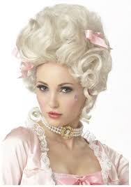 halloween blonde wigs blonde marie antoinette wig womens victorian halloween costume wigs