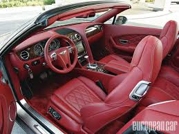 interior bentley bentley continental review and photos