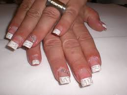 classic nail designs with pearls with photo of pearl nail 20