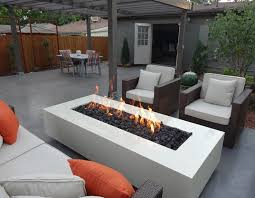 Contemporary Firepit Modern Outdoor Pit Pit Grill Ideas Modern Pit