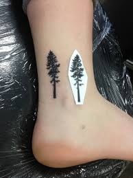 small tree on ankle pinteres