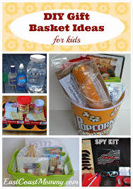 Comfort Gift Basket Ideas East Coast Mommy 5 Diy Gift Basket Ideas For Kids