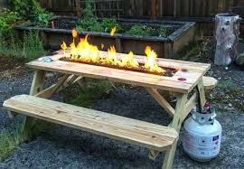 Diy Propane Firepit Build Your Own Propane Pit Diy Propane Pit Kit Canada