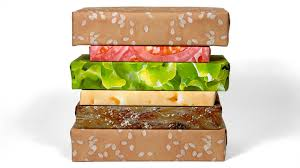 cheeseburger wrapping paper gift couture gift couture