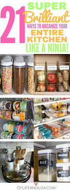 ideas for organizing kitchen pantry 21 brilliant diy kitchen organization ideas organization ideas