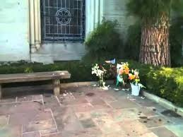 Michael Jackson Backyard Michael Jackson U0027s Grave Youtube