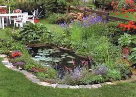 Garden Pond Design Markcastroco - Backyard pond designs small
