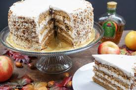 my birthday cake crown royal apple pecan cake with chai spiced