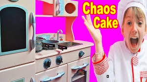 kids kitchen cake chaos girls fun play kitchen toys kitchens toy