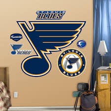 st louis blues logo wall decals fathead st louis blues logo wall decals