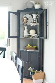 Corner Cabinets Dining Room Furniture Friday Favorites Cupboard Milk Paint And Corner