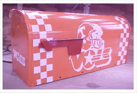 university of tennessee volunteers vols big orange metal