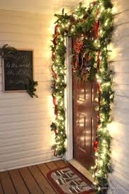 decorating front porch with christmas lights 40 festive outdoor christmas decorations front porches porch and