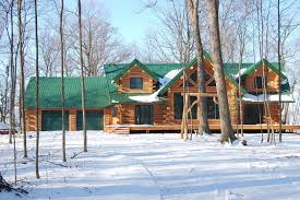 log home floor plans with garage kits