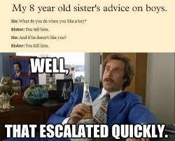 Funny Advice Memes - a little girl s advice on boys