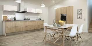 cuisine bois blanc cuisine bois et blanc laqu trendy excellent cuisine design blanche