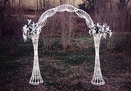 wedding arch for sale arch wedding white wicker weddings tents events grand rental