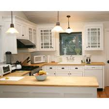 lowes canada kitchen cabinets shop q solutions company 6 ft bamboo countertop at lowe s canada