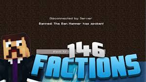 Ban Hammer Meme - minecraft factions 146 the ban hammer has spoken minecraft