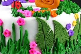 sugar u0026 everything nice garden fondant cake
