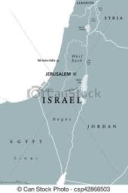 political map of israel israel political map gray israel political map with capital