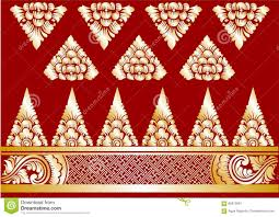 vector gold balinese ornaments stock illustration image 66873991