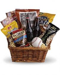 cincinnati gift baskets take me out to the ballgame basket t108 1a in cincinnati oh