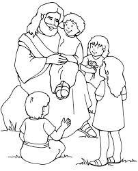 jesus children coloring 79 free coloring book