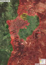 Aleppo Syria Map by War Map Update General Look At Military Situation In Aleppo City