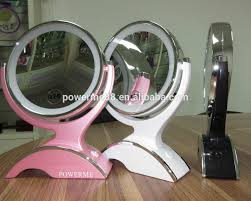 led makeup mirror bathroom mirror with light suction cup cosmetic