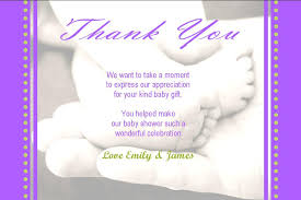 baby shower thank you cards personalised baby shower thank you card design 7